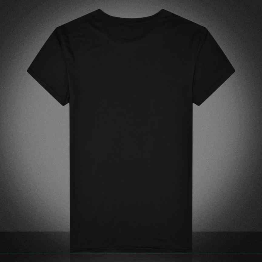 Moda Impresso T-shirt Dos Homens de Impressão Crânio de Manga Curta TShirt Fim de Semana Rua Casual Top Tee Skate Boy Hip hop Camiseta