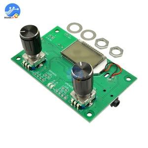 Image 5 - FM Radio Empfänger Modul 87 108MHz Frequenz Modulation Stereo Erhalt Board Mit LCD Digital Display 3 5V DSP PLL