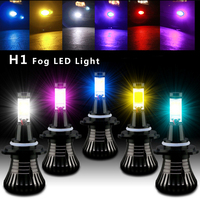 2pcs Lot Car LED Front Fog Lamp Flashing Light Strobe Bulb H1 LED Cars Fog Lights