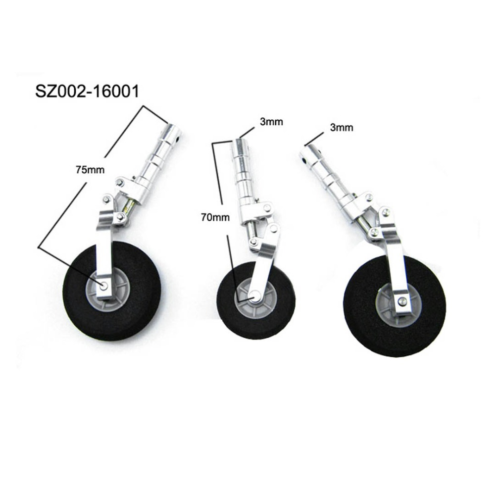 Aluminum Alloy Undercarriage Anti-vibration Landing Gear For 120 Class RC Airplane Model