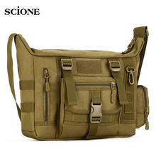 14 Inch Laptop Shoulder bag Men's Backpack A4 Document Tactical Military Molle Messenger Sport Crosscody Bags Sling Pack XA458WA подвесная люстра eglo medici 85447