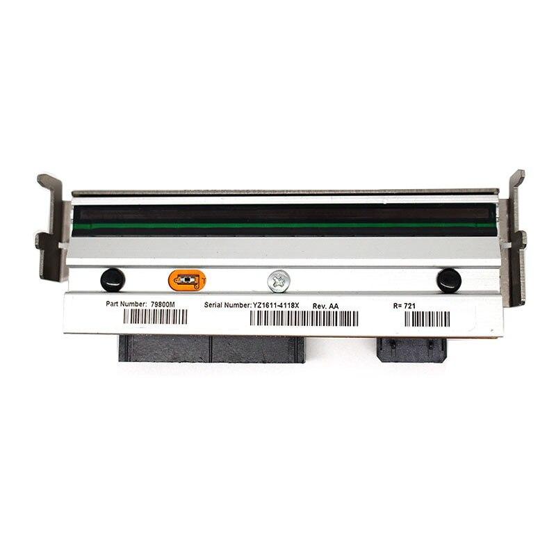 Nova Alta Qualidade ZM400 ZM400 203 dpi Da Cabeça De Impressão Para Zebra Impressora de Código De Barras Térmica Impressora de Etiquetas Compatível 79800 M, garantia 90 dias