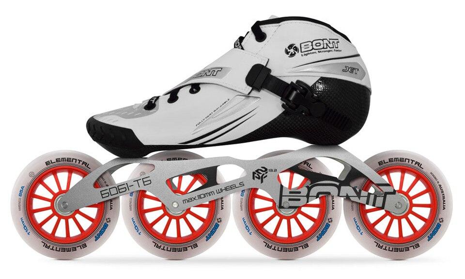 about 2PT Inline Jet 2019 Skates Details CarbonFiber Heatmoldable Boot Original Bont Speed D9IWEHY2