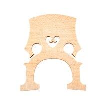 Родина 1 шт. изысканный Виолончель мост 3/4 высокое качество полоса клен профессиональные аксессуары для виолончели и запчасти