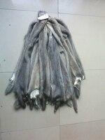 Wholesale Mink skin for blanket/Good quality natural color mink marten fur skin