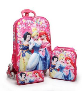 Kinder Rollende Fall kinder trolley Kinder Reisen koffer Schule rädern rucksack tasche Mochila kinder Trolley Taschen mit räder