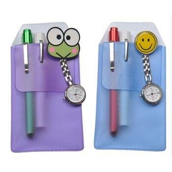 Новый дизайн, чехол для ручки медсестры, глянцевая матовая Практичная ручка, вставляется герметичный ПВХ материал, набор пенальти
