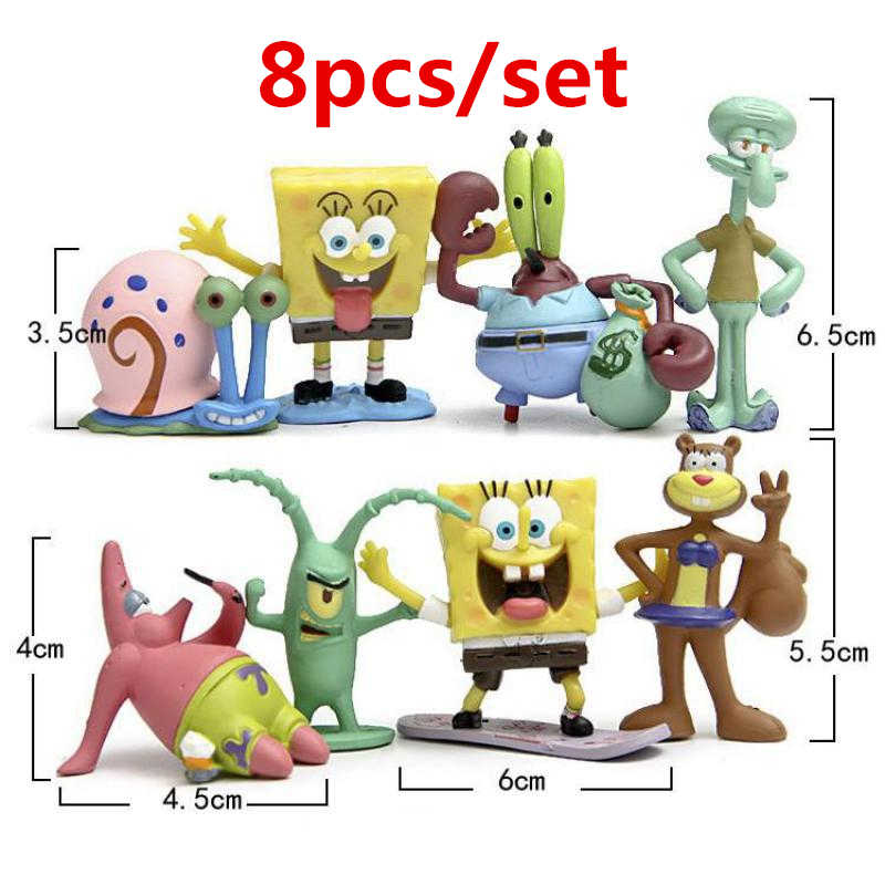Lucu Akuarium Spongebob Dekorasi Gambar Ikan Tangki Ornamen Spongebob Rumah Patrick Patrick Star Lanscape Air Dekorasi Aliexpress