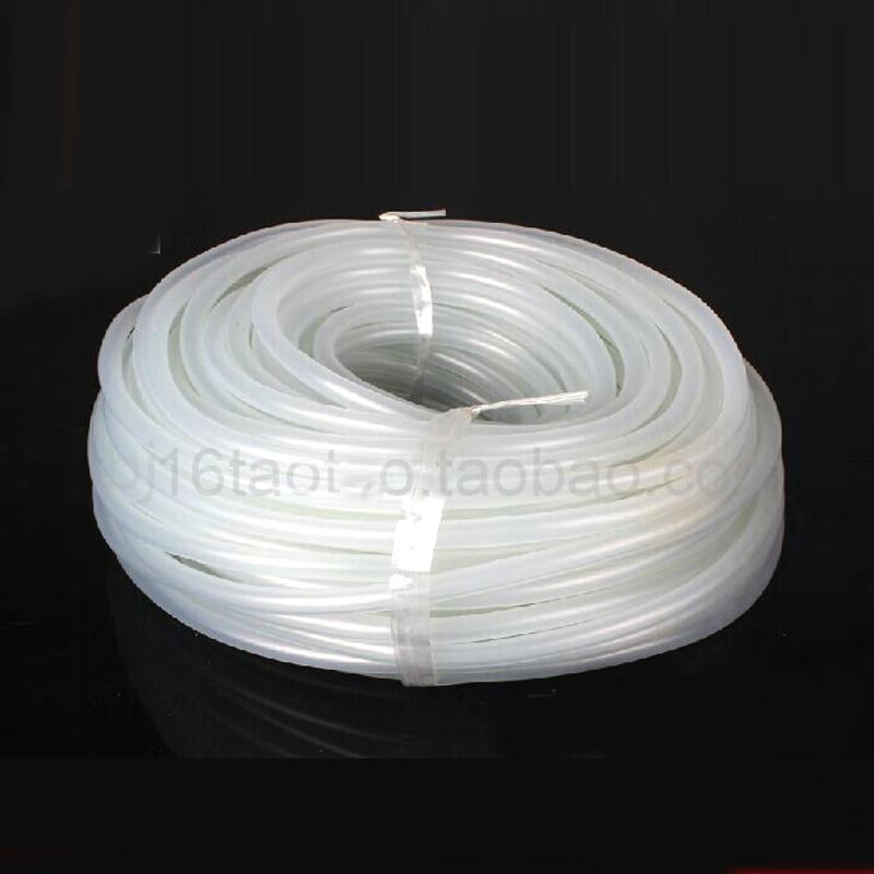 Fish tank 10 m transparent silicone hoses aquarium air for Fish tank hose