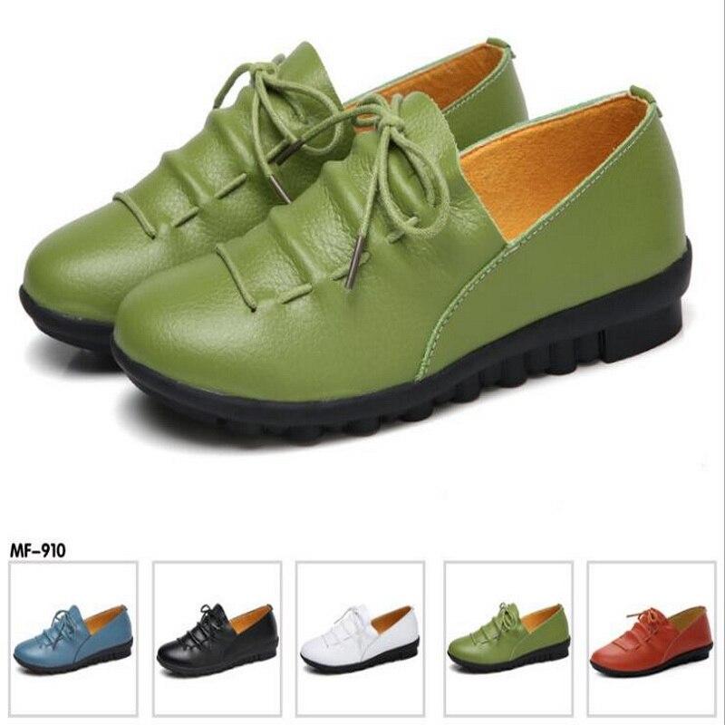 Vente Nouvelles Le Chaussures Occasionnels Automne Cuir pu Chaude Bleu Style Britannique 2018 Porter En De blanc Green 40 army Taomengsi 35 Femmes Printemps Taille Ciel Noir CqyF5XWw