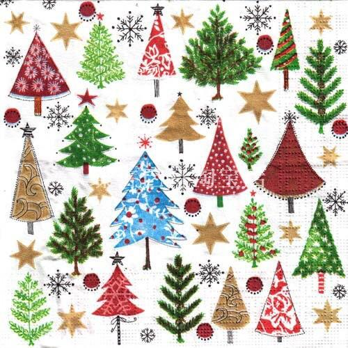 2013 Special Decoupage paper christmas 33cm * 33cm NO 015