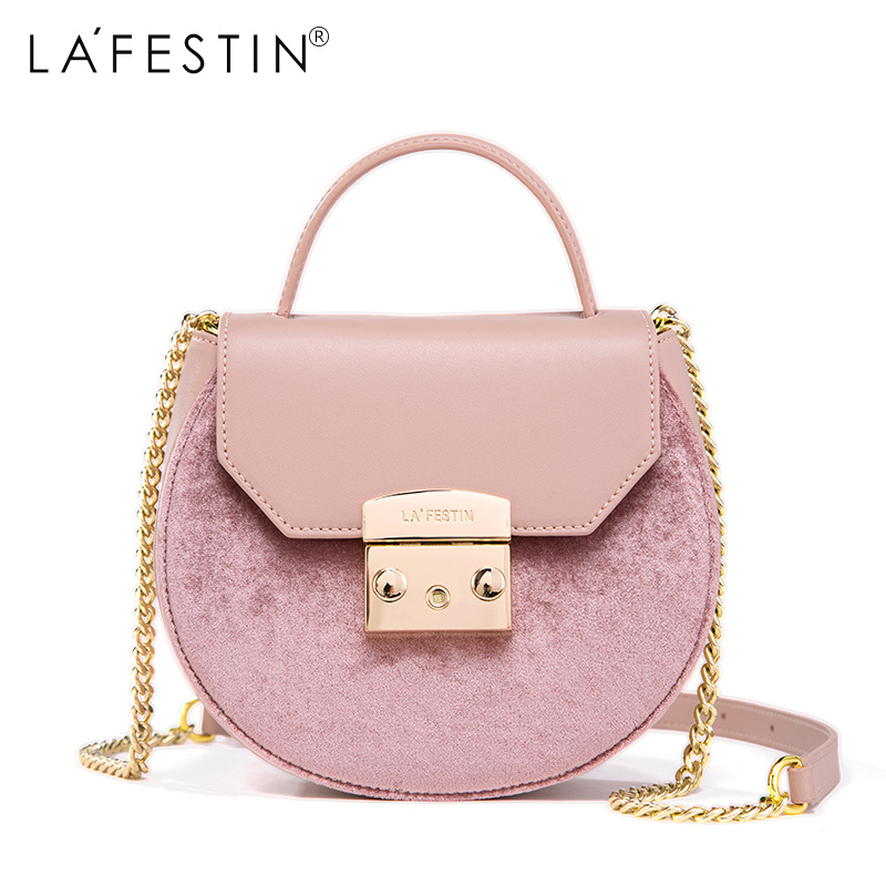 LAFESTIN Soid Shoulder Real Leather Bag 2017 Fashion Women Designer bags Crossbody Luxury brands Bag bolsa lafestin luxury shoulder women handbag genuine leather bag 2017 fashion designer totes bags brands women bag bolsa female