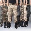 Nueva Llegada de la Alta Calidad de Los Hombres Pantalones Más El Tamaño 28-38 Hombres del Estilo Militar de Camuflaje Pantalones de Los Hombres Pantalones de Camuflaje de Carga 9 Colores