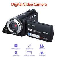 """ORDRO HDV-V12 3,0 """"LCD 16X Digital Zoom 1080P FHD Digital Kamera Infrarot DVR Video Recorder Nachtsicht CMOS Sensor kartenleser"""