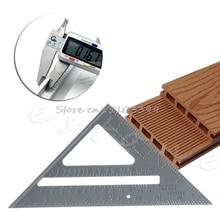 Measuring-Tool Ruler Protractor Carpenter Speed-Square Miter Aluminum 7-Framing Drop-Ship