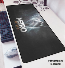 olwonow big METRO 2033 mouse pads 70x30cm to mouse notbook computer locrkand gaming