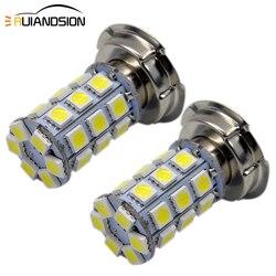 2x P26S 8 W LED światła 6 V 12 V motocykl reflektor przeciwmgielne DRL 5050 27SMD żarówki Super Bright biała lampa  znajdziesz produkty rowerowy  które również cię motorower ATV| |   -