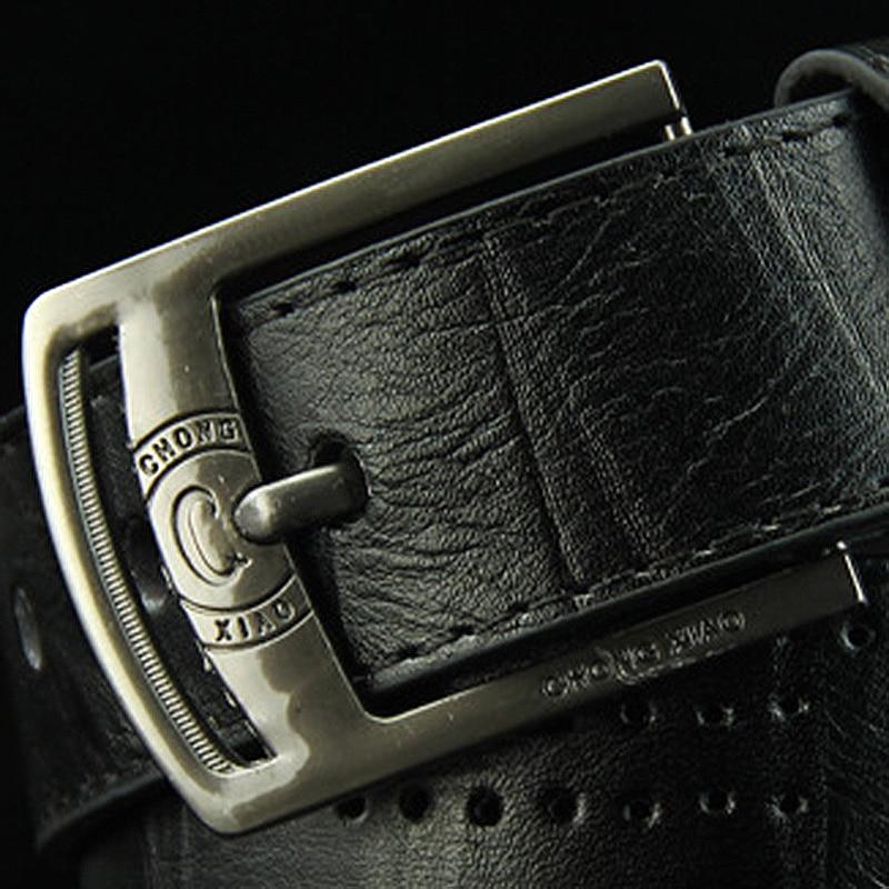 [DWTS] 2016 new mens hip hop style antique pin buckle belt PU mens casual fashion belt rivet belts for men mens belt