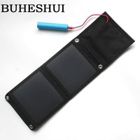 High Quality 8W Solar Charger Foldable Monocrystalline Solar Panel Charger For Iphone Mobile Power Bank