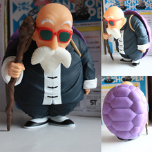 Master Roshi with Shell Model Figure (10CM)