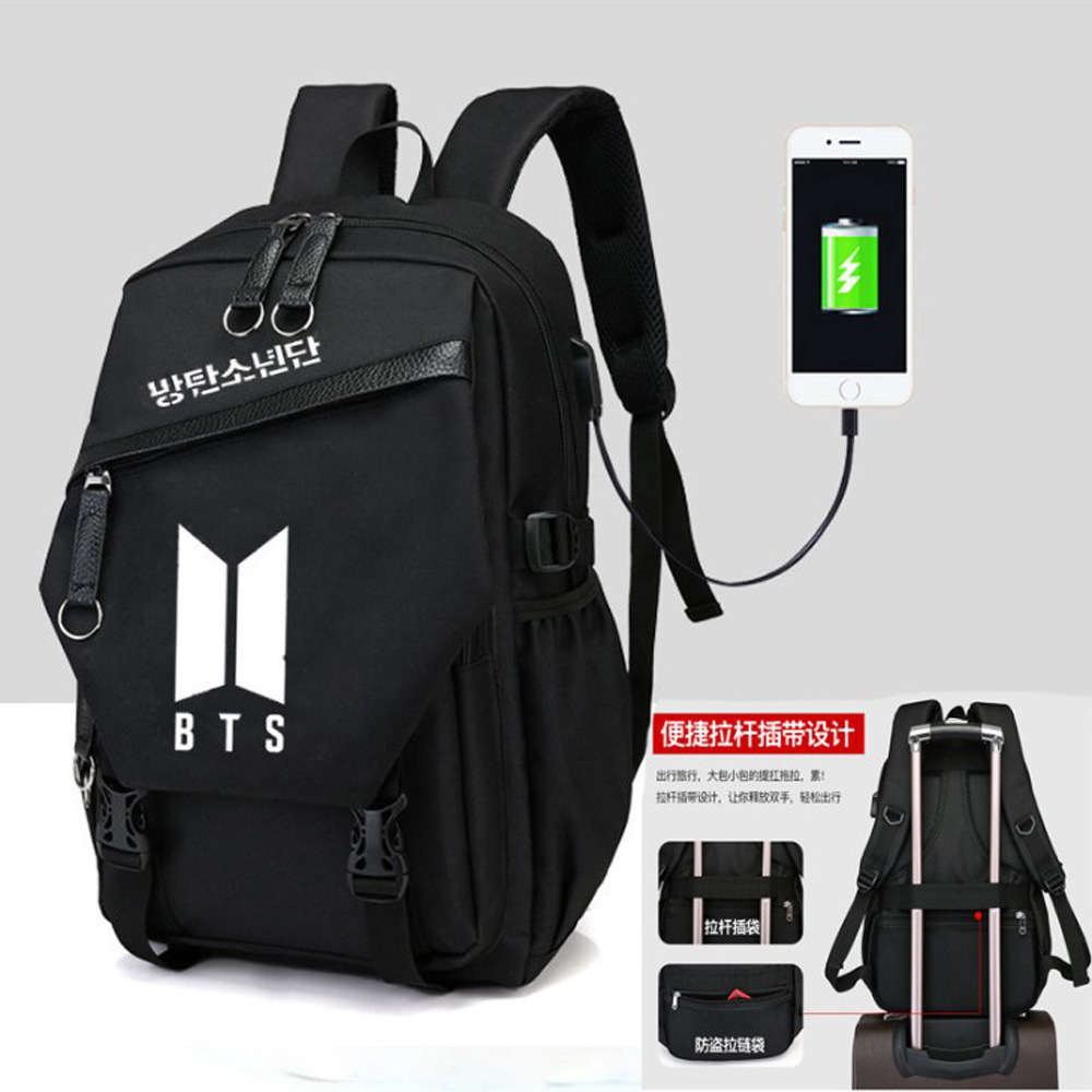 Luggage & Bags Men's Bags Seventeen Same Paragraph Backpack Male And Female Student Bags Canvas Travel Backpack Computer Bag 2018 New