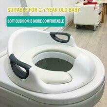 EN71 Baby Kids Infant Potty Toilet Training Children Seat Pedestal Cushion Pad Ring