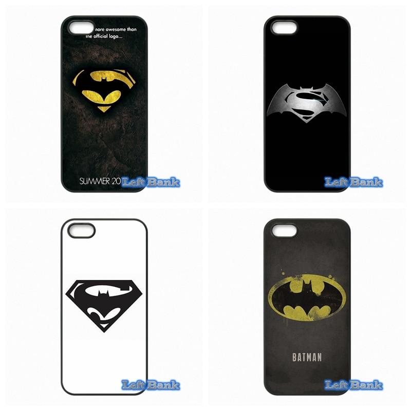 Batman vs Superman Logo Phone Cases Cover For Samsung Galaxy Note 2 3 4 5 7 S S2 S3 S4 S5 MINI S6 S7 edge