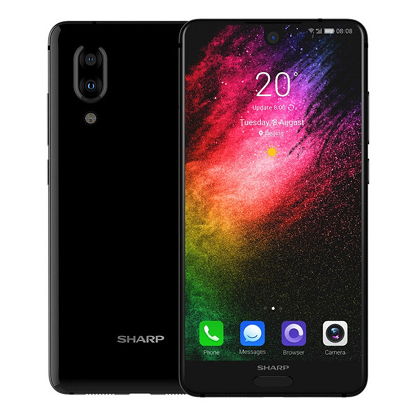 Image 5 - SHARP AQUOS C10 S2 SmartPhone Android 8.0 4GB+64GB 5.5 FHD+ Snapdragon 630 Octa Core Face ID NFC 12MP 2700mAh 4G-in Cellphones from Cellphones & Telecommunications
