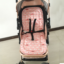 Cotton Baby Stroller Cushion Seat pad Baby Diaper Pad Baby Stroller Pad Seat  Infant Changing Mat For Yoya Stroller Accessories 0 5 year infant playmat kids carpet baby play mat baby stroller cotton cushion seat breathable soft booster seat baby seat pad