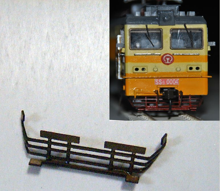 Train model 1 87HO railway accessories with materials DIY troubleshooting device