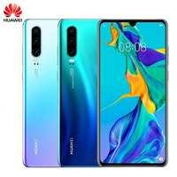 Original HUAWEI P30 128GB+8GB 6.1 inch Smartphone Kirin 980 Octa Core Mobile Phone Android 9.0 Dual SIM Card 3650mAh 4 Cameras