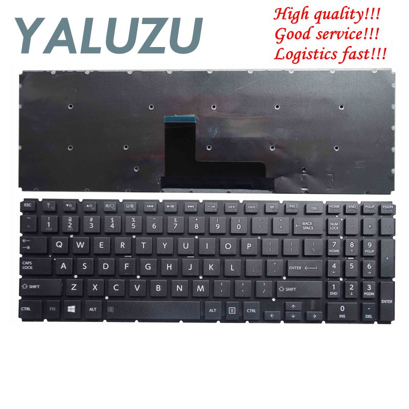 YALUZU  NEW For Toshiba Satellite S50T-C L50-B L50D-B L55DT-B S50-B L55-B P50D-C S55-B English US Keyboard