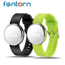 Fentorn UW1S font b Smart b font Bracelet Dynamic Heart Rate Monitor Call Messages reminder Blood