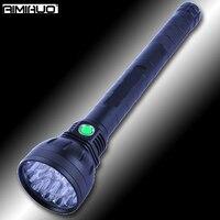 AIMIHUO 18 * T6 сильный фонарик светодиодный Яркий 22000lm Multifuntion светодиодный фонарик Охота свет Алюминий сплав Фонари фонарик