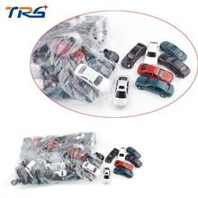 1 100 scale ABS plastic model car toy for architectural miniature kits
