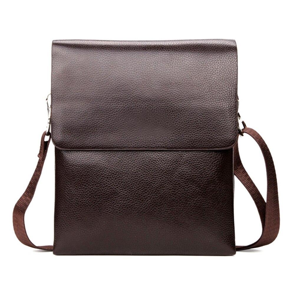 2018 New Men Shoulder Crossbody Bag Zipper Messenger Briefcase For Mobile Phone Business 99 LT88 2018 new 99