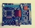 X58 материнская плата LGA 1366 DDR3 доски для i3 i5 i7 cpu SATAII USB2.0 16 ГБ для Intel X58 1366 Используется оригинал