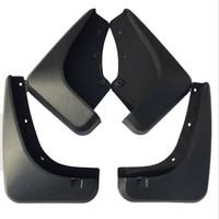 For Ford Kuga 2011 4PCS Kit Black Mud Flaps Splash Guards Mudguard Mudflaps Fenders Car Styling Accessories