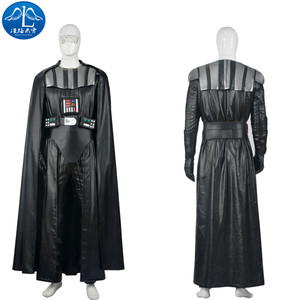 New Star Wars Darth Vader Cosplay Costume Adult Jedi Suit Whole Set Custom Made Darth Vader Halloween Costumes For Men Customize