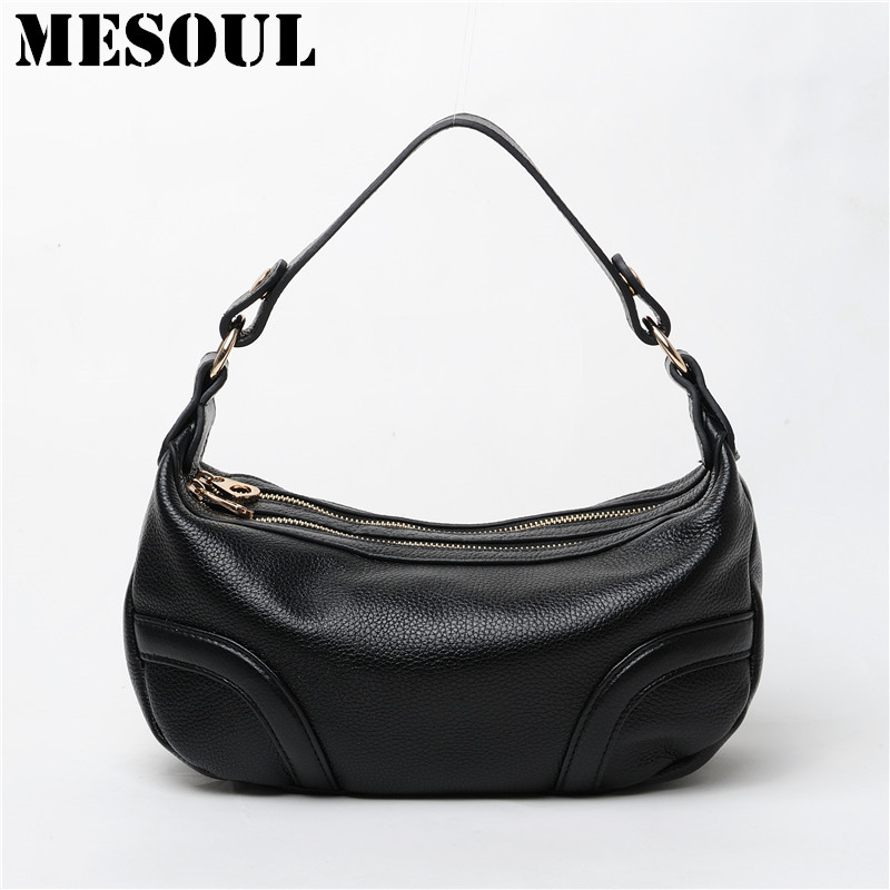 Fashion Bag Candy Color Cross Body Shoulder Bag Genuine Leather Handbag Female Bags Casual Women's Messenger Bags Satchel Purses candy color women shoulder bag cross body handbag bucket satchel purse tassel summer bag cow leather ladies designer bag