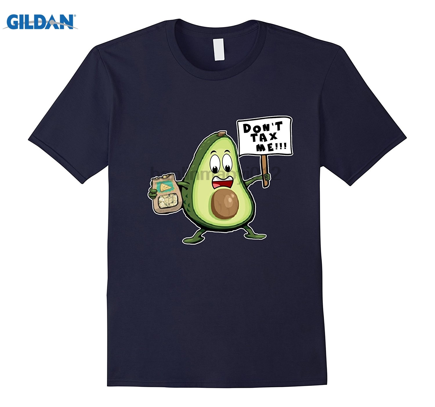GILDAN Dont Tax Me Avocado Funny T-shirt Sarcastic Comic Support Womens T-shirt ...
