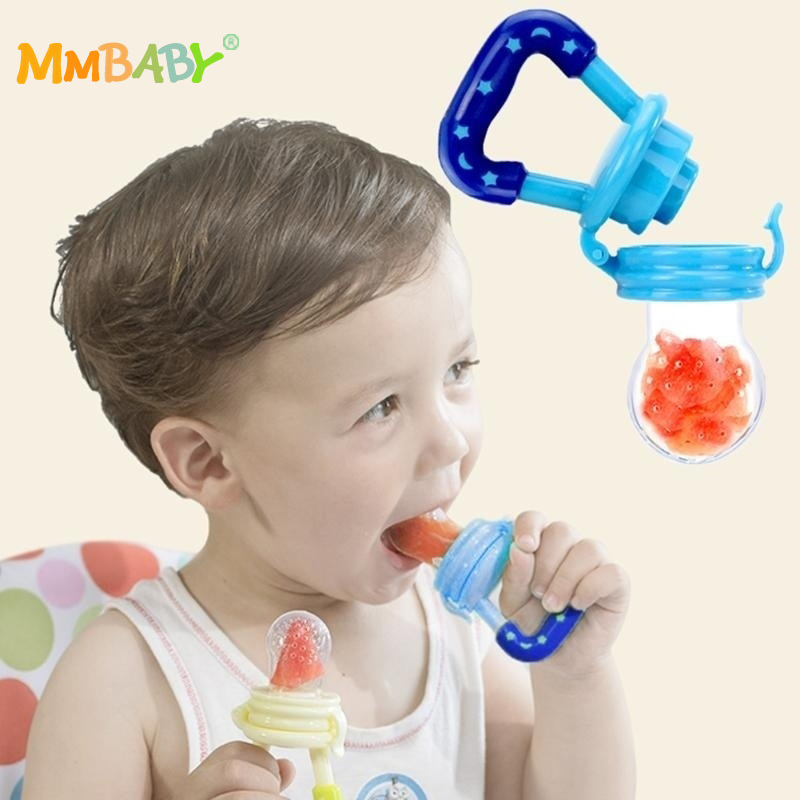 MMBABY High Quality Baby Pacifier Funny Safety Silicone Fresh Food Fruits Feeder Feeding Nipples for Infant Toddler