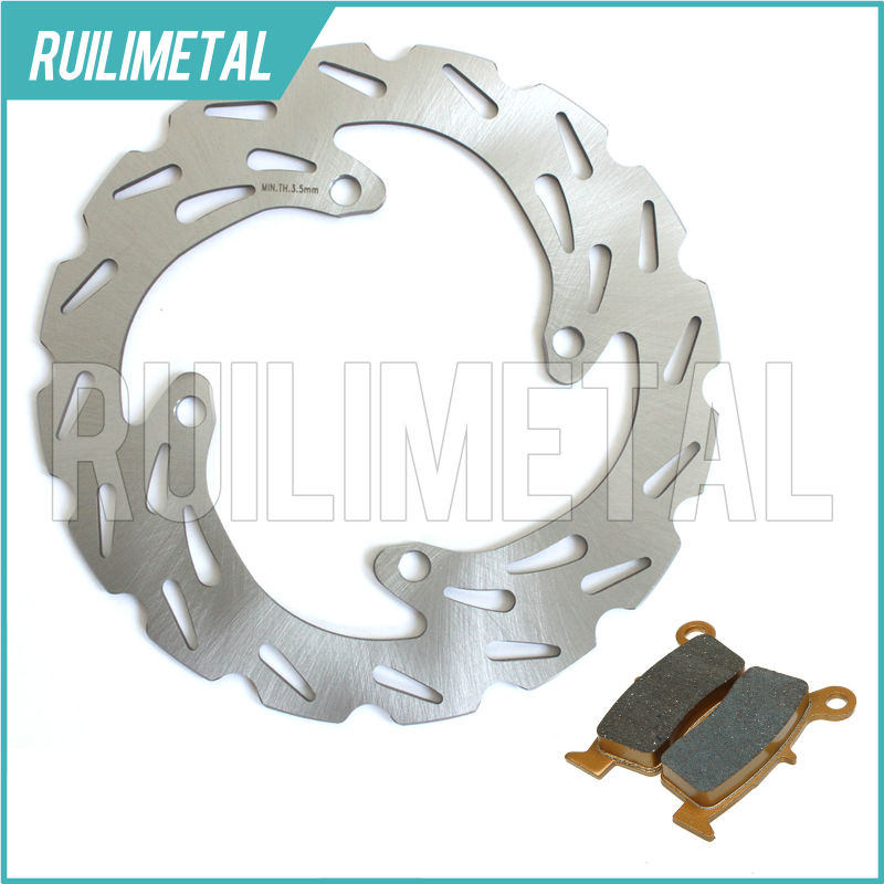 MX Offroad New Rear Brake Disc Rotor Pads Set for KAWASAKI KX125 KX-125 KX250 KX-250 03 04 05 06 07 08 KX 125 250 2007 2008 амортизаторы bilstein в6 offroad