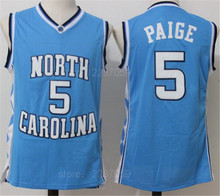 f87b91f0cd5 Ediwallen North Carolina Tar Heels College 5 Marcus Paige Basketball Jerseys  Sports Uniforms Stitched Team Black