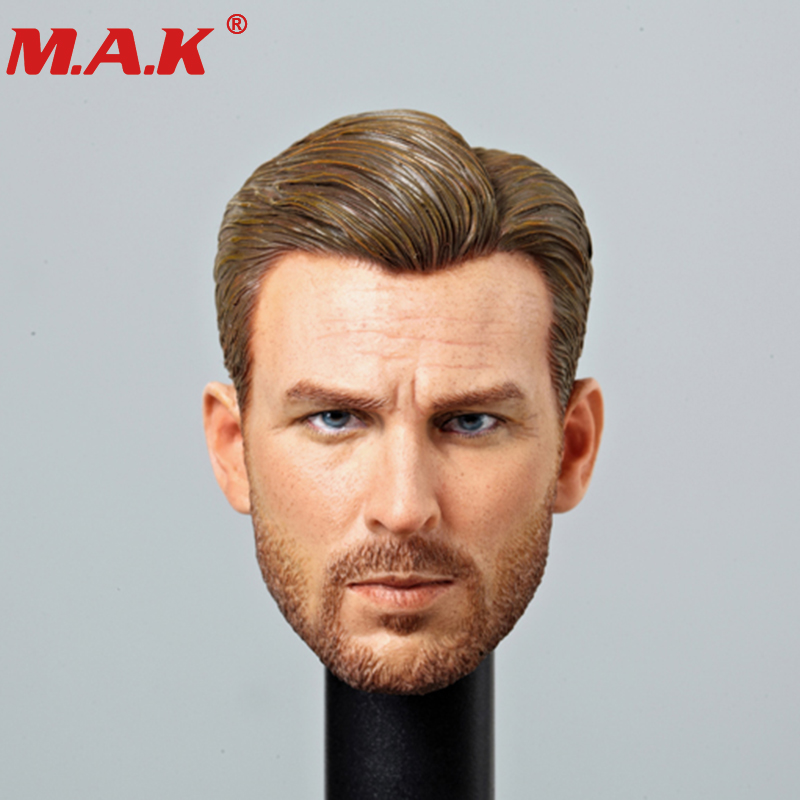 1/6 Scale Captain America COD CAPTAIN Head Sculpt Cool Male Star Head Carving Model Fit 12TTM19 or TTM20 man Collectible Doll 1 6 head sculpt male figure doll guardians of the galaxy star lord head carving 1 6 action figure acccessories juguete toys gift