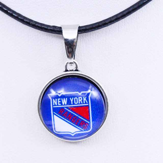 Necklaces Pendants NHL New York Rangers Charms Ice Hockey Team Women  Necklace for Girls Gifts Party Birthday Fashion 2018 d405aa4bb