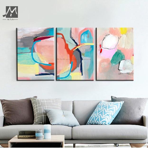 Muya Tanie Nowoczesne Obrazy Abstrakcyjne Malarstwo Dekoracyjne