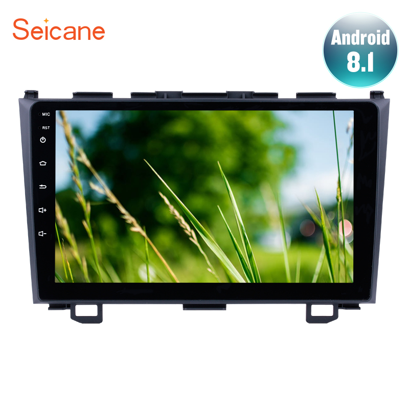 Seicane Android 8.1 2Din Car Radio GPS Navigation For Honda CRV 2006 2007 2008 2009 2010 2011 Multimedia Player Head UnitSeicane Android 8.1 2Din Car Radio GPS Navigation For Honda CRV 2006 2007 2008 2009 2010 2011 Multimedia Player Head Unit