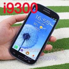 オリジナルサムスンギャラクシーS3 i9300 s iiiの携帯電話ロック解除3グラムwifi 8MP改装androidスマートフォン