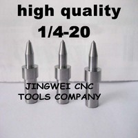 High Quality Tungsten Carbide Flow Drill America System UNC 1 4 20 5 7mm Round Type